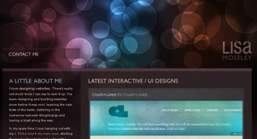 Effective Glowing Effect in Web Design